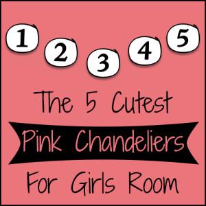 Pink Chandelier For S Room Fantastic Five List